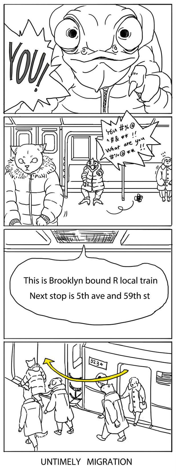 2. Monologue Time | 5 Bizarre Situation You Get Used To When You Commute Through NYC Subway