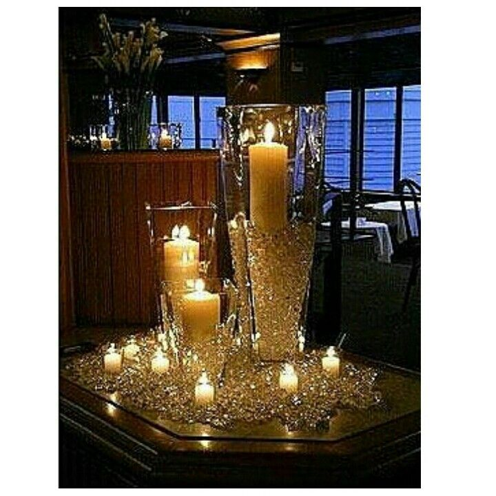 Diamonds And Pearls Centerpiece