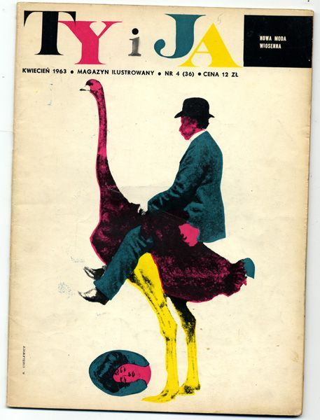 Cover of Ty I Ja (You and I) Roman Cieslewicz 1963