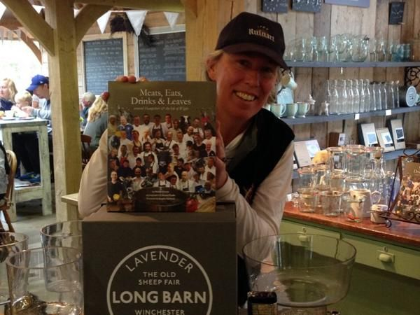 Meets, Eats, Leaves - book launch at Long Barn