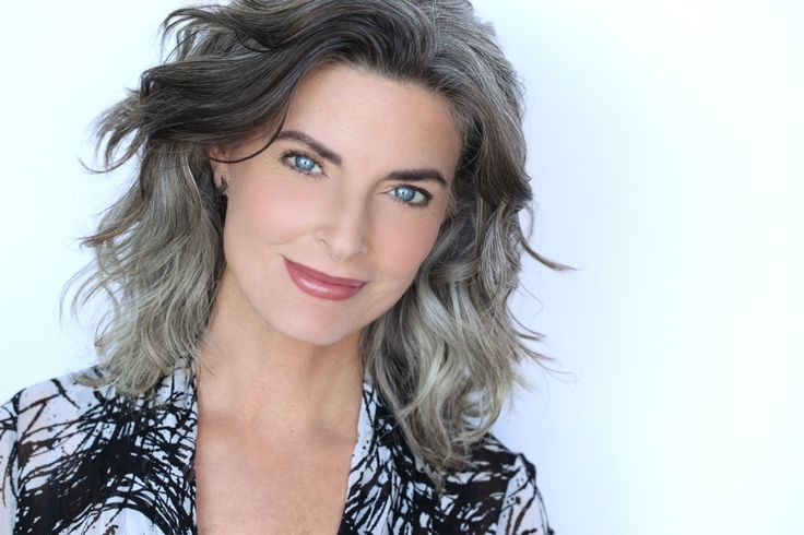 hair styles for grey hair 25 best joan severance ideas on going grey 5058 | bf69fa268343f1afafb0d4b5058a045a joan severance lowlights