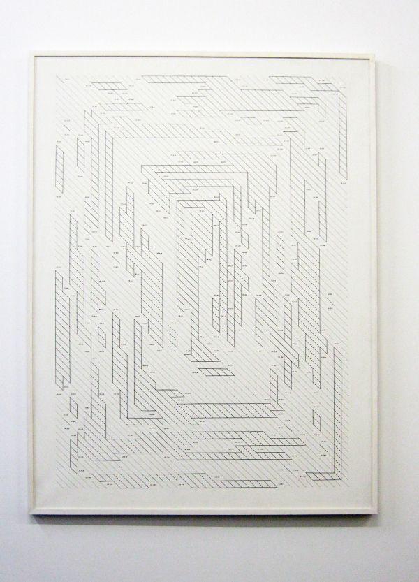Serie: Poema de los Números Primos / Esther Ferrer / Projects / àngels barcelona