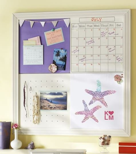 Superior Dorm Room Decorating Ideas BY STYLE. Fabric Bulletin BoardsPurple ...