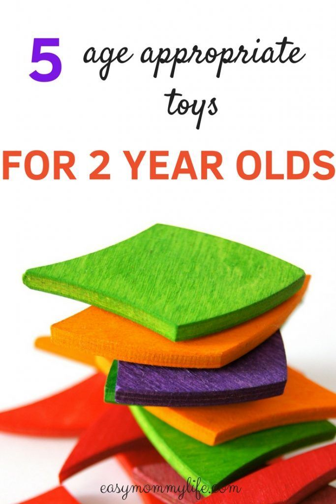 5 Age Ropriate Toys For 2 Year Olds