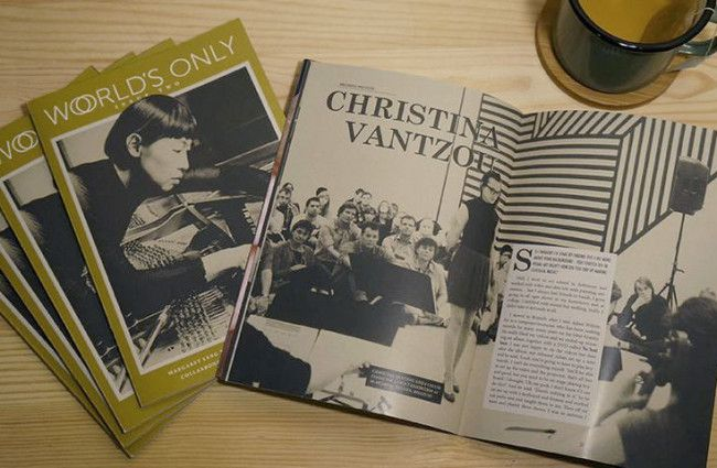 WORLD'S ONLY ZINE: A SYDNEY PUBLICATION ALL ABOUT MUSIC