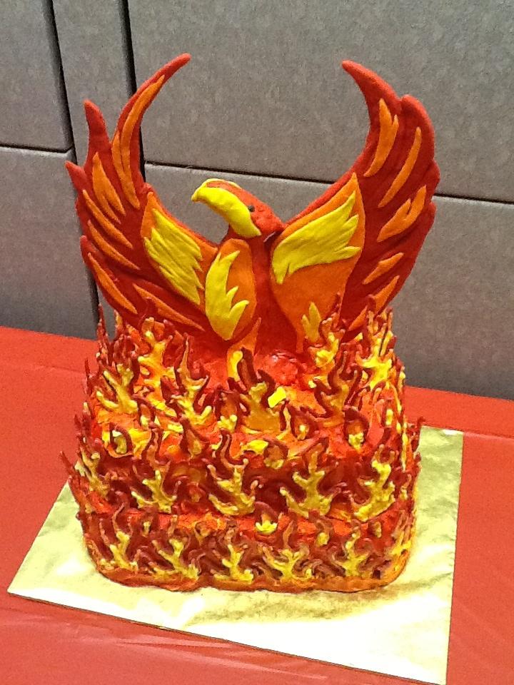 Phoenix Rising Cake Sweet Escapes Pinterest Phoenix