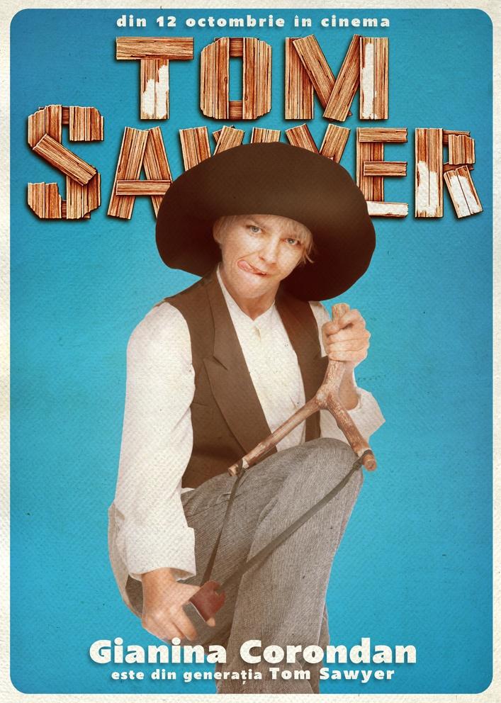 Gianina Corondan face parte din Generația Tom Sawyer