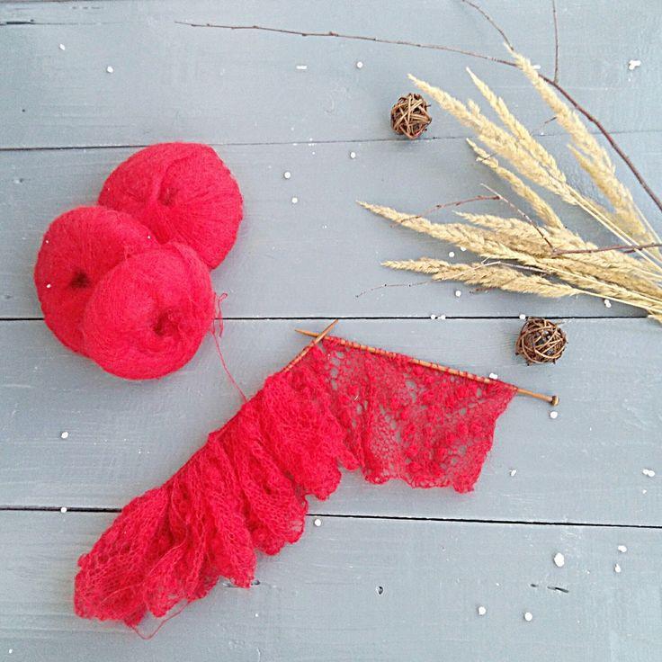 New shawl  ❤❤❤ red shawl