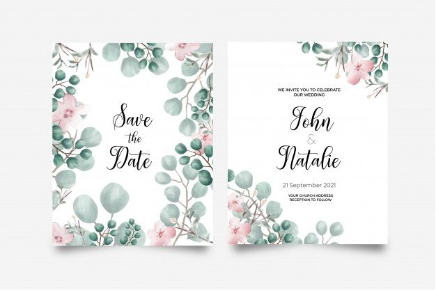 Download Save The Date Card For Free Save The Date Cards Vector Free Invitations