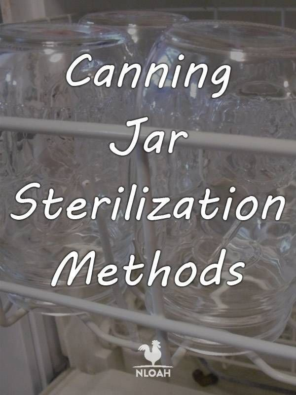 Canning Jar Sterilization Methods New Life On A Homestead Homesteading Blog Canning Jars Canning Canning Recipes