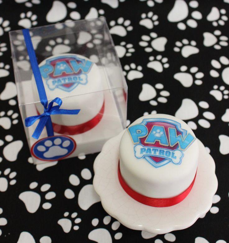 Paw Patrol Minicakes Souvenirs  Violeta Glace