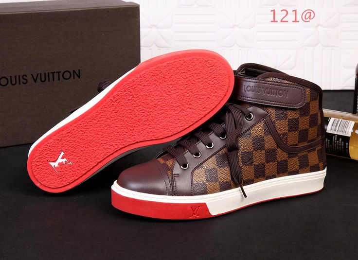cheap louis vuitton high tops shoes in 96552 for men 92