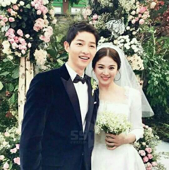 Song Song Couple Wedding Pic