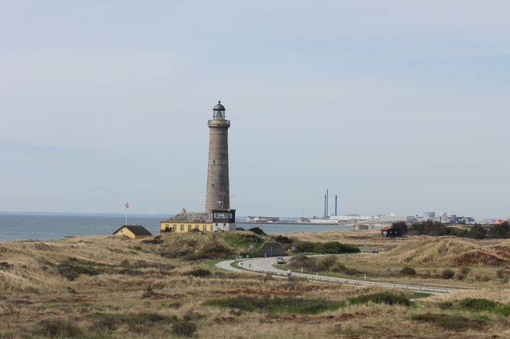 Det Grå Fyr, Skagen (The Grey Lighthouse, Skagen) Denmark