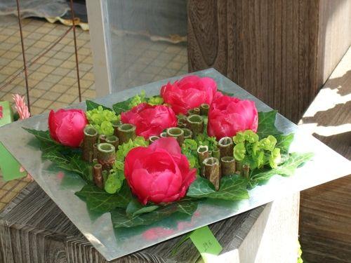 Pivoines renou e du japon pour les fleurs pinterest fleuri et art - Faire ses compositions florales ...