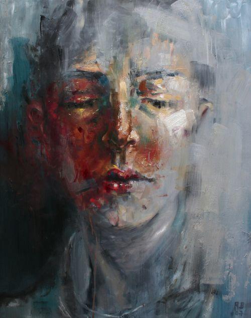 Rossina Bossio. #portrait #painting #rossinabossio