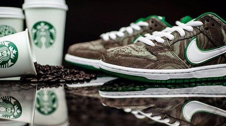 Nike brews awkward sneaker inspired by Starbucks