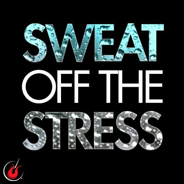 Stressful week= More time in the gym..