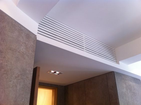 This cover allows plenty of air flow thru the slats for your Ductless indoor unit.