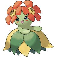 """""""Plentiful in the tropics. When it dances, its petals rub together and make a pleasant ringing sound."""" — Pokémon FireRed Version"""