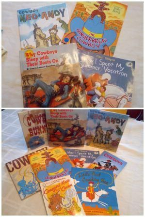Cowboy Wild West Theme Unit Ideas and book activities