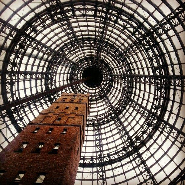 Melbourne Central Station.