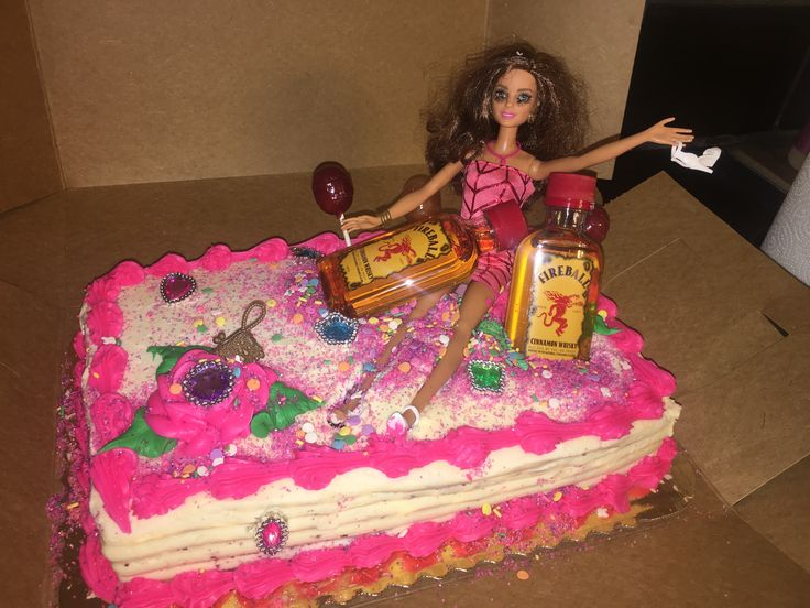 Best 25 Drunk Barbie Cake Ideas On Pinterest 21st Bday