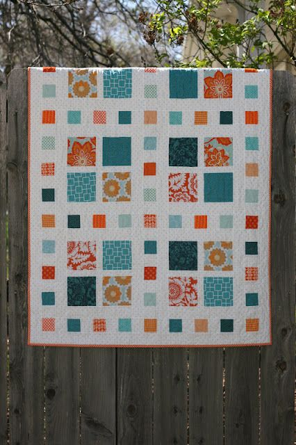 A Little Bit Biased: Square Dance {a new pattern}