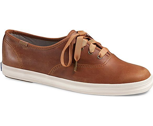 Women - Champion Pull Up Leather - Tan Leather | Keds