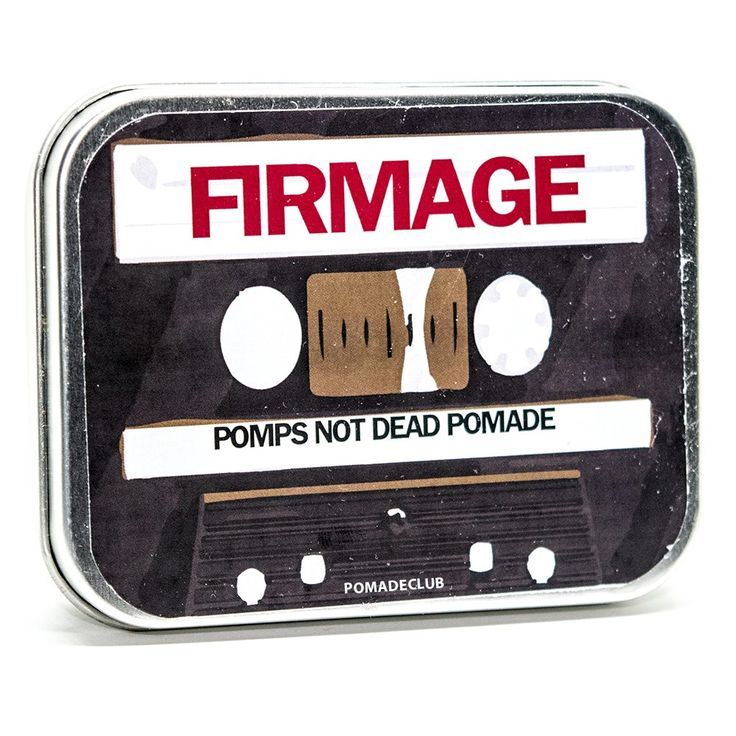 Pomps Not Dead Firmage Pomade (Coffee) 4oz