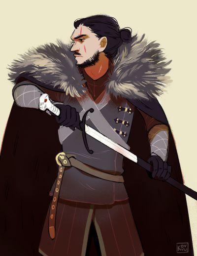 Jon Snow by Kovvu