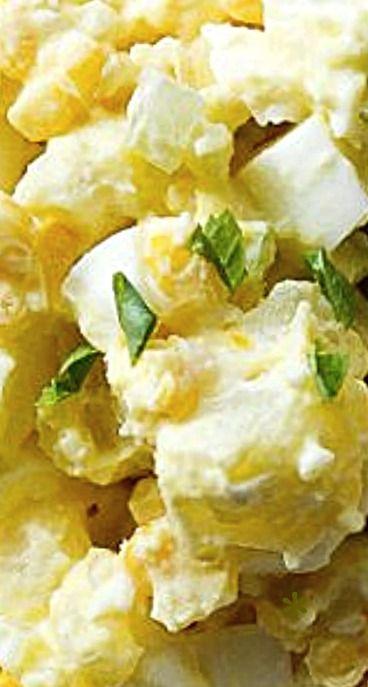 Potato egg salad