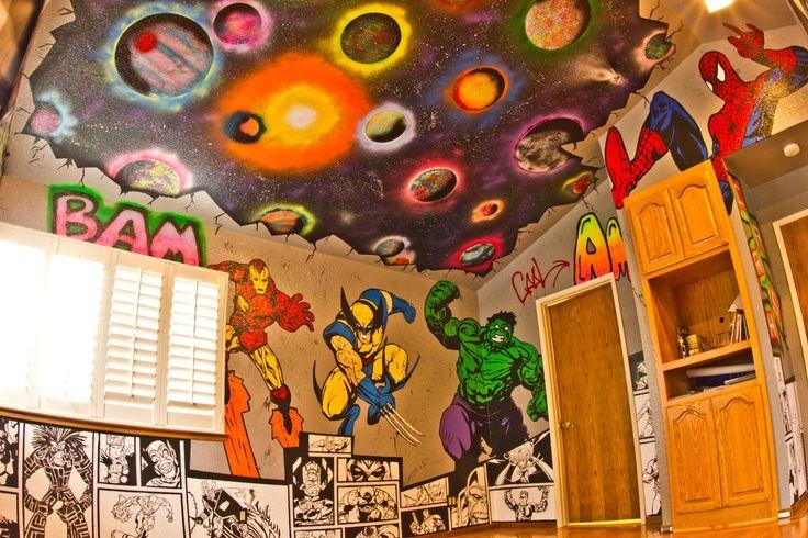 superhero ceiling