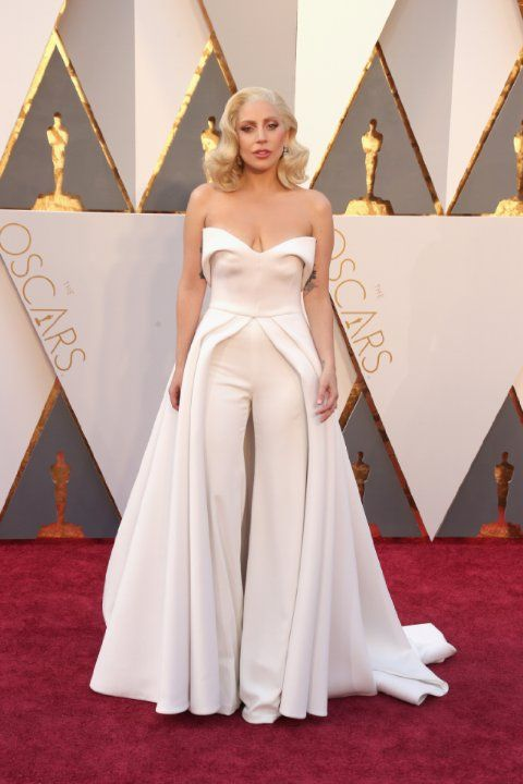 Lady Gaga at event of The Oscars (2016)