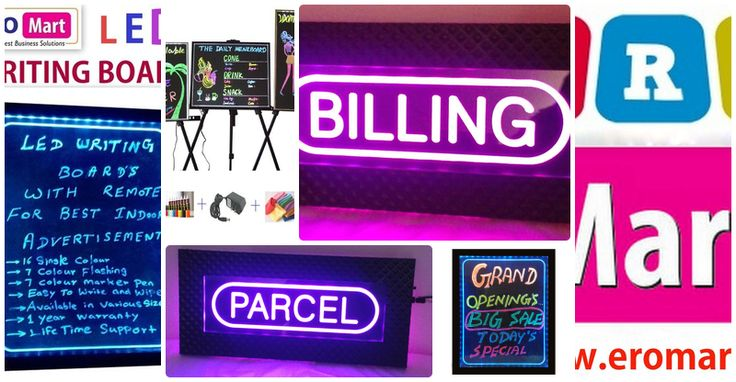 ERO Mart - LED Writing Board Manufacturers and Suppliers in Erode, Tamil Nadu