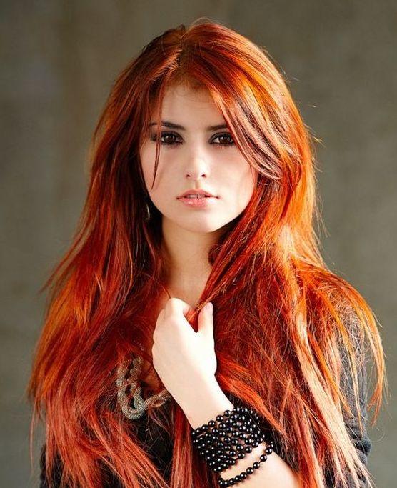 coloration cuivr pour vos cheveux - Coloration Roux Cuivr