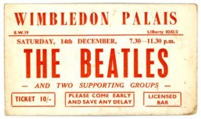 beatles tickets   Concert tickets, Wimbledon