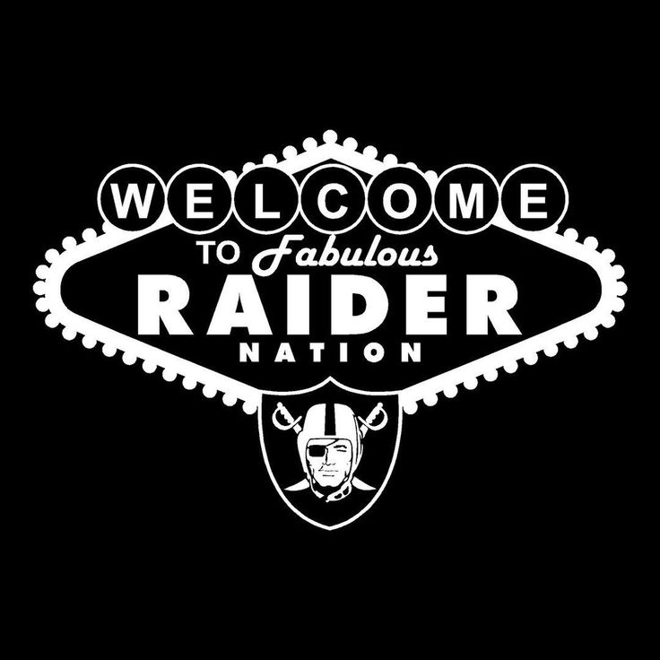 Las Vegas - Raiders 4 Life Decal/Window Sticker