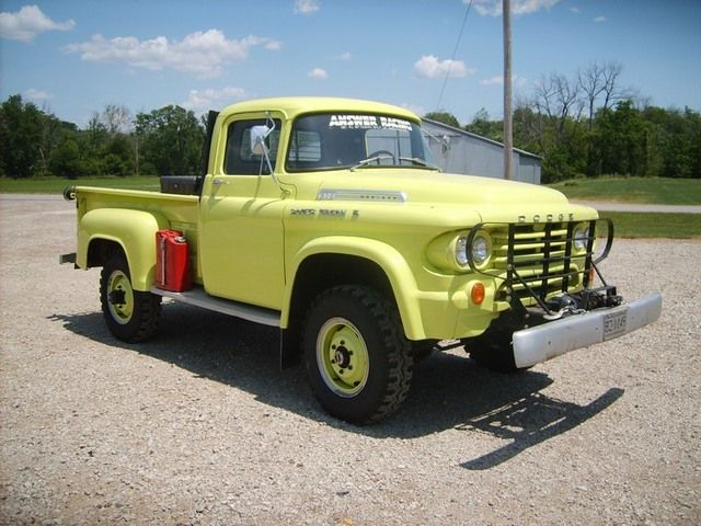 1958 Dodge W200 Power Giant Power Wagon $11,000 [MI]