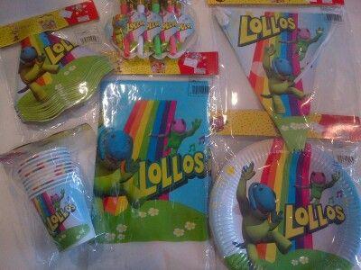 Lollos party goodies