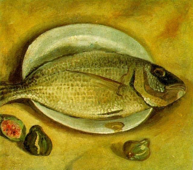 Salvador Dali  Still Life - Fish  1922