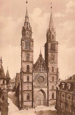 St. Lorenz, Nuremberg, started between 1245 and 1315.