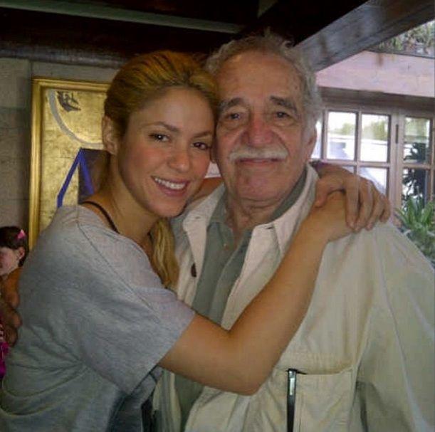 Shakira and Gabriel Garcia Marquez