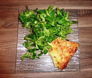 Blog de recettes Weight Watchers Propoint... Ou pas!: Quiche sans pâte aux poireaux - Weight Watchers Propoint