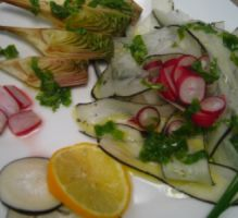 DETOX SALAD - Salade détox légumes primeurs et vinaigrette aux fanes