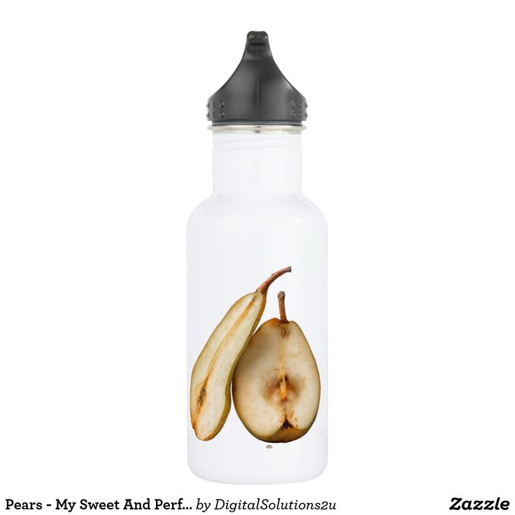 Pears - My Sweet And Perfect Half Water Bottle