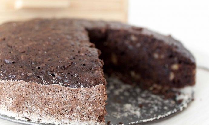 Čokoládovo-cuketová buchta