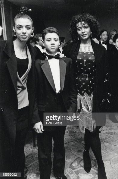 Actress Diahnne Abbott, daughter Dreena De Niro and son ...