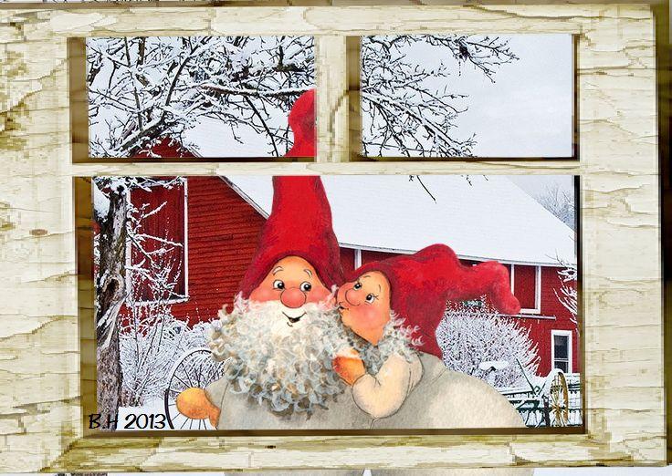 Christmas/Jul made by me,  Berit Haukereid