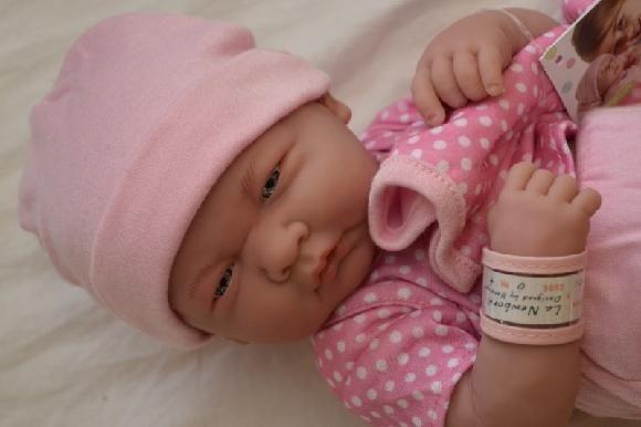 Realistické miminko holčička - Emilka od Berenguer ze Španělska
